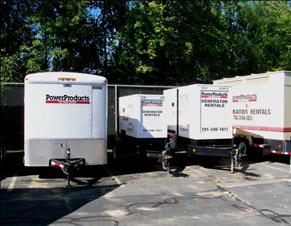 Kohler generator rental services